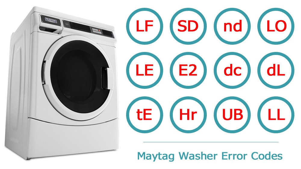 Maytag Washer Error Codes | Washer and dishwasher error