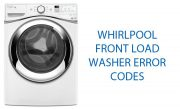 Whirlpool Front Load Washer Error Codes