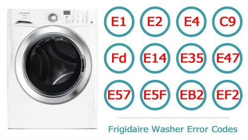 Frigidaire Washer Error Codes