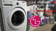 LG wm2277hb Washer Error Codes