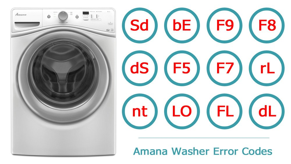 Amana Washer Error Codes | Washer and dishwasher error codes