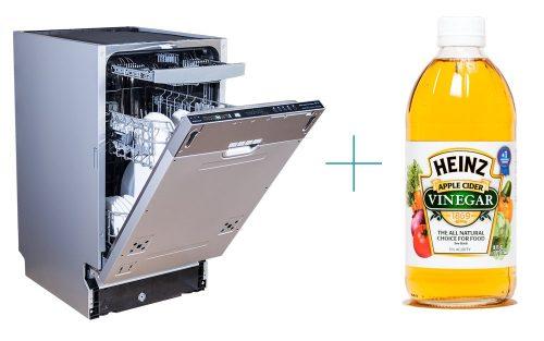 Clean Dishwasher with Vinegar
