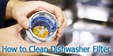 How to Clean Dishwasher Filter