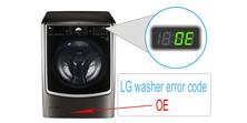 LG washer error code OE (repair)