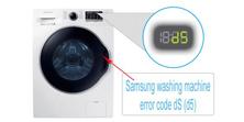 Samsung Washer Error Code Ds (D5)