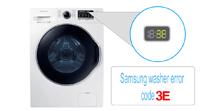 Samsung washer error code 3E