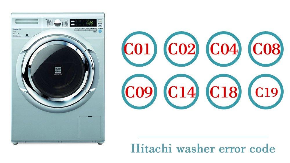 Hitachi washer error code | Washer and dishwasher error