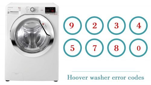 Hoover washer error codes