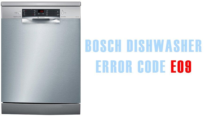 Fine Bosch Dishwasher Error Code E09 Washer And Dishwasher Error Codes Wiring Cloud Tziciuggs Outletorg