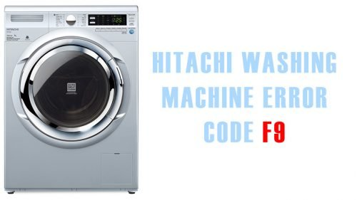 Hitachi washing machine error code f9