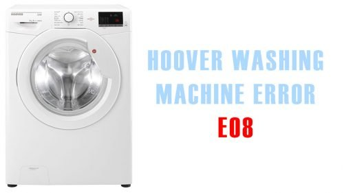 Hoover washing machine error e08