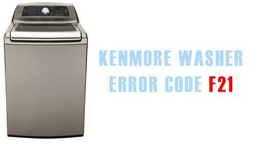 Kenmore washer error code f21