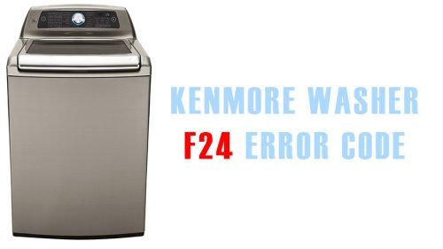 Kenmore washer f24 error code