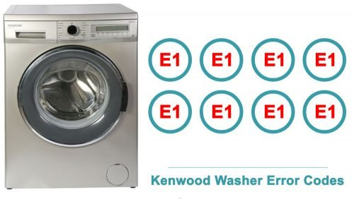 Kenwood Washer Error Codes