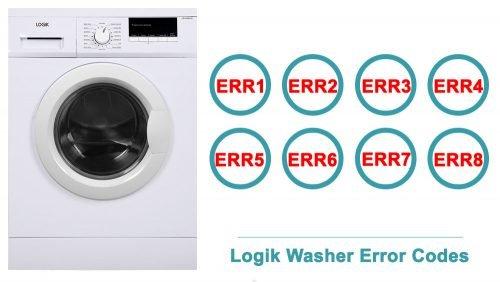 Logik Washer Error Codes