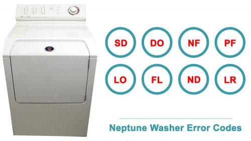 Neptune Washer Error Codes