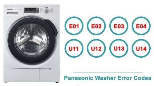 Panasonic Washer Error Codes