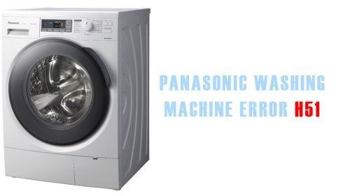 Panasonic washing machine error h51