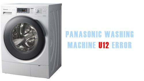 Panasonic washing machine u12 error