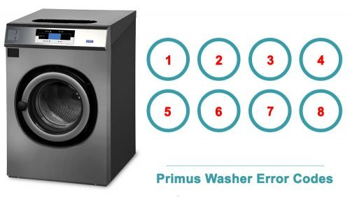 Primus Washer Error Codes