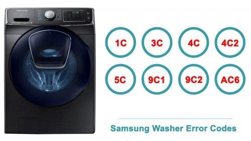 Samsung Washer Error Codes