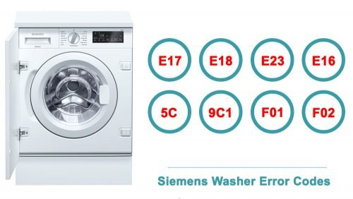 Siemens Washer Error Codes