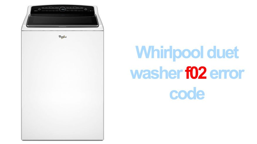 kenmore washer fault code f06