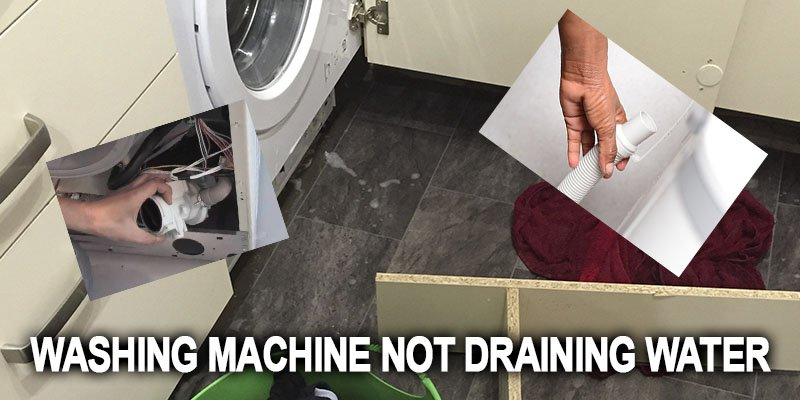 Washing machine not draining water