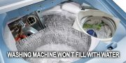 Washing machine won t fill with water