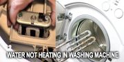 Water not heating in washing machine