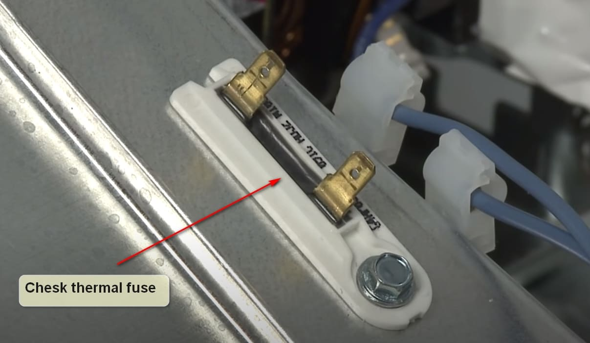 What to do if your Frigidaire dishwasher won't turn on tumb Thermal Fuse
