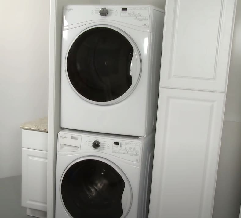 Where to place the washer and dryer set 2